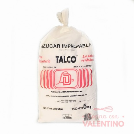 Azucar ImpalpableTalco Dewey - 5 Kg