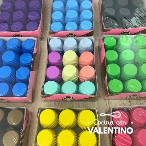 Pirotines Color N°8 Moldpack - Pack 500 Un.