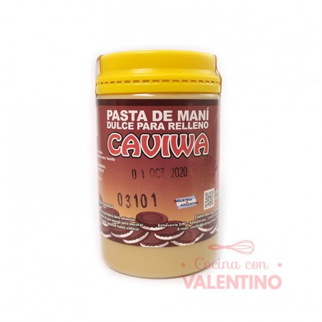 Pasta Mani Dulce p/ Relleno Caviwa - 450Grs