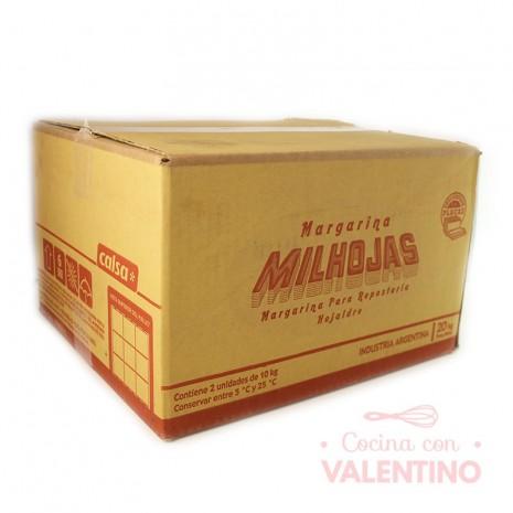 Margarina Hojaldre Milhojas Calsa - 20Kg (2u)