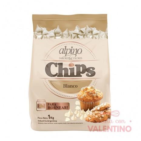 Chip Gota Blanco Alpino - 1Kg