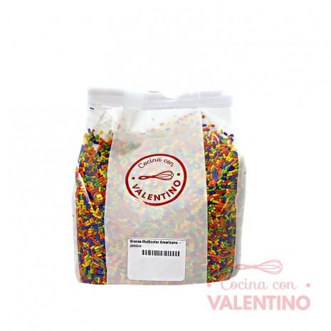 Granas Multicolor Americano - 250 Grs.