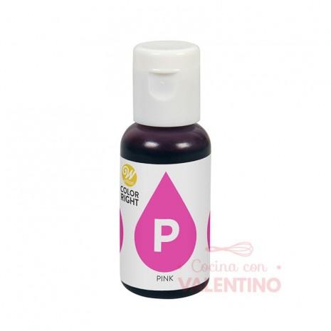 Colorante Liquido Color Right Wilton - Rosa