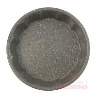 Molde Tortera Estampada Linea Gray Granit Mishka - 28.5x5Cm