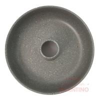 Molde Flan Liso Linea Gray Granit Mishka - 26Cm