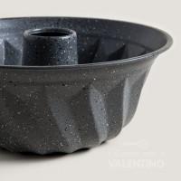 Molde Flan Estampado Linea Gray Granit Mishka - 24Cm