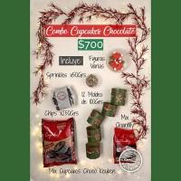 COMBO Cupcakes Chocolate