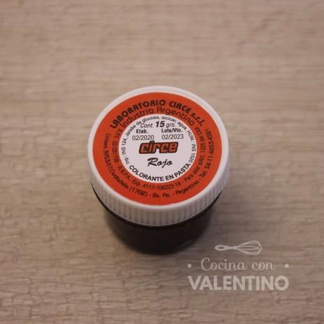Colorante en Pasta Circe 15Grs - Rojo