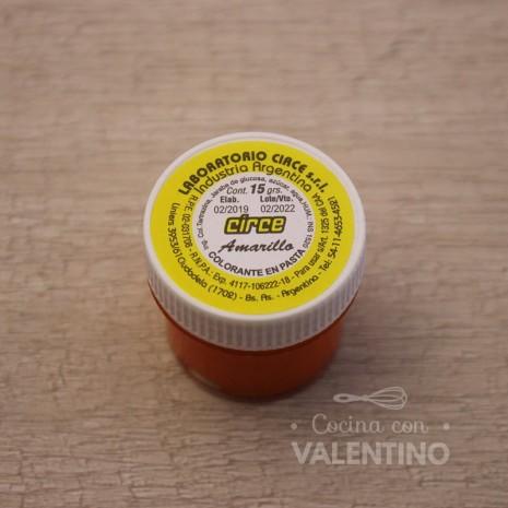Colorante en Pasta Circe 15Grs - Amarillo