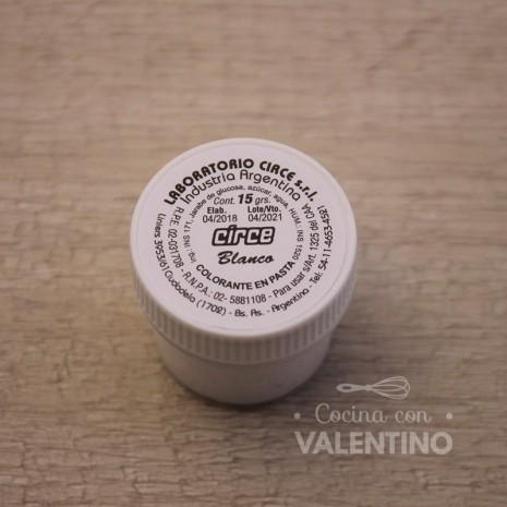 Colorante en Pasta Circe 15Grs - Blanco