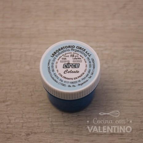 Colorante en Pasta Circe 15Grs - Celeste