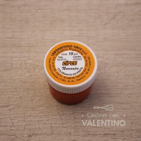 Colorante en Pasta Circe 15Grs - Naranja