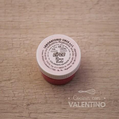 Colorante en Pasta Circe 15Grs - Rosa Bebe