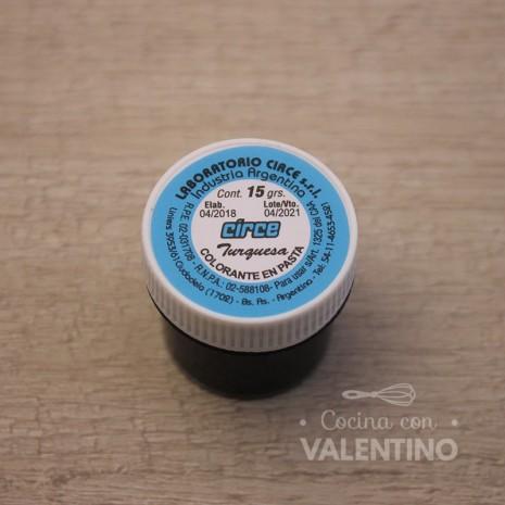 Colorante en Pasta Circe 15Grs - Turquesa