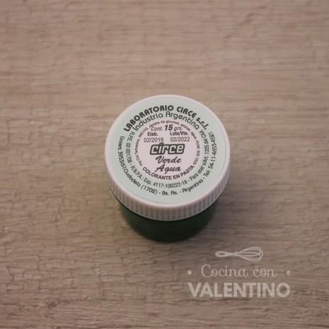 Colorante en Pasta Circe 15Grs - Verde Agua