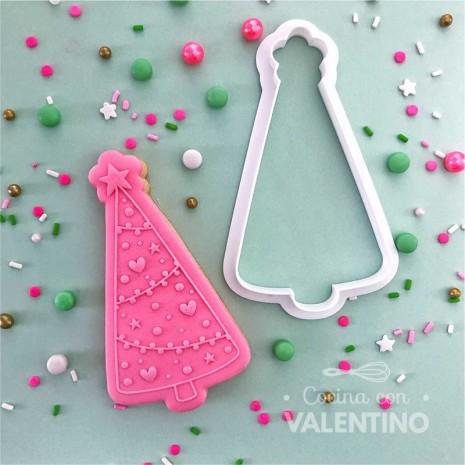 Cortante + Sello Arbol de Navidad Ruphas