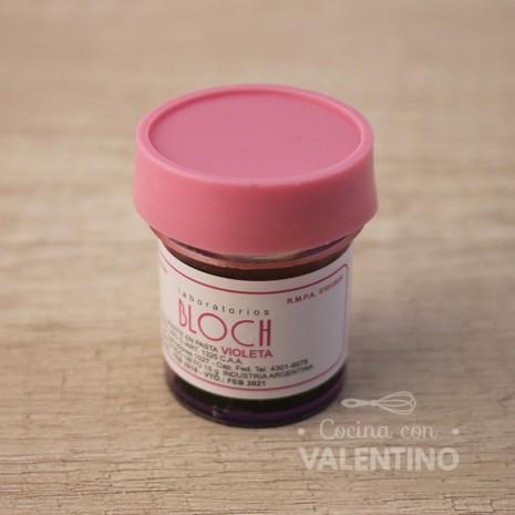 Colorante en Pasta Bloch Violeta - 15Grs