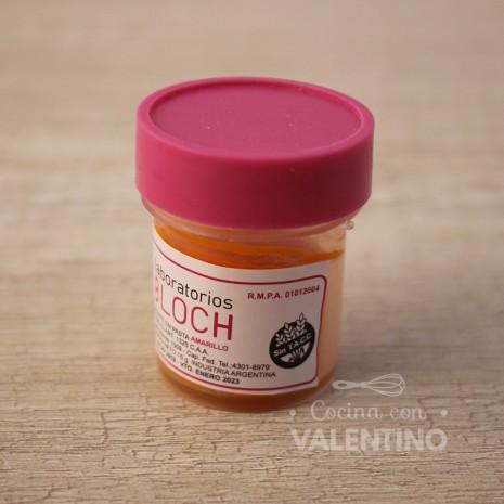 Colorante en Pasta Bloch Amarillo - 15Grs