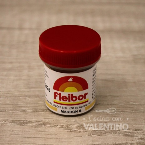 Colorante en Pasta Fleibor Marron B - 15Grs