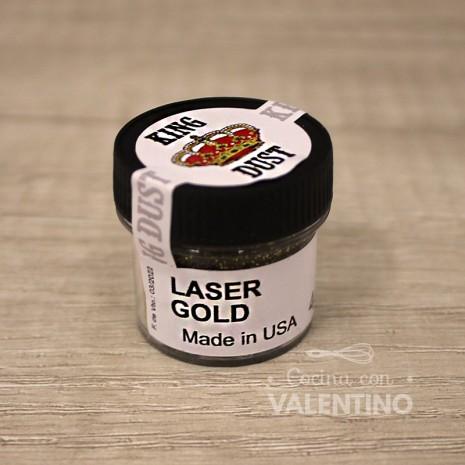 Glitter Laser King Dust Gold - 4Grs