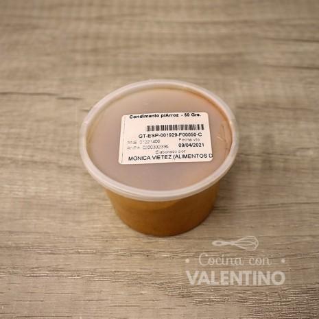 Condimento p/Arroz - 50 Grs.