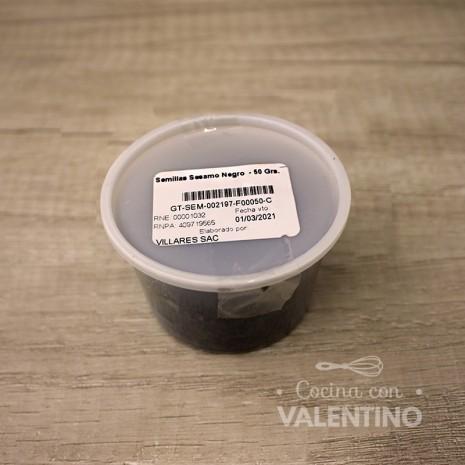 Semillas Sesamo Negro - 50 Grs.