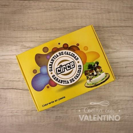 Colorante en Pasta Circe 15Grs - Amarillo - Pack 12 Un.