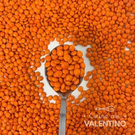 Lentejas Mini de Chocolate Naranja - 100 Grs.