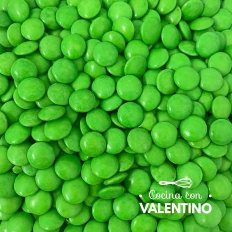 Lentejas de Chocolate Verde - 100 Grs.