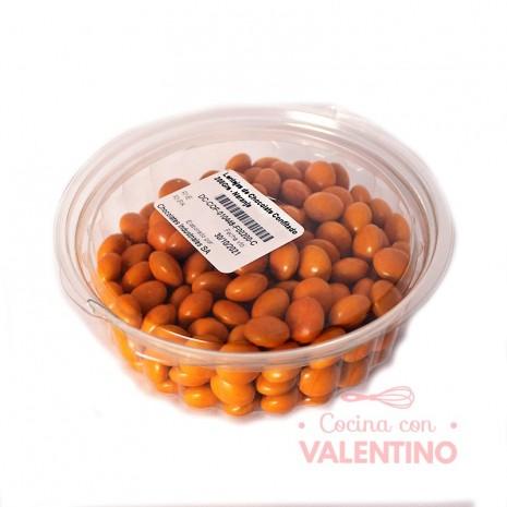 Lentejas de Chocolate Confitado 200Grs - Naranja