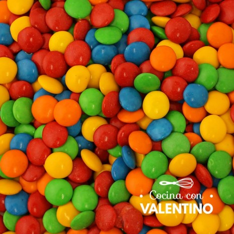 Lentejas de Chocolate Multicolor - 1 Kg.