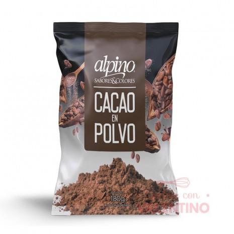 Cacao Amargo Alpino - 180Grs
