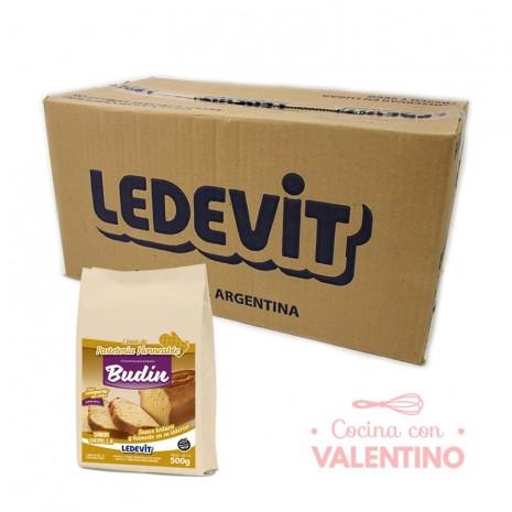 Mix Budin de vainilla Ledevit - 500Grs - Pack 12 Un.