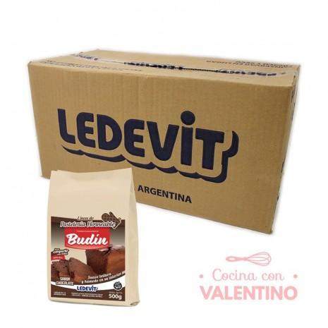 Mix Budin de chocolate Ledevit - 500Grs - Pack 12 Un.