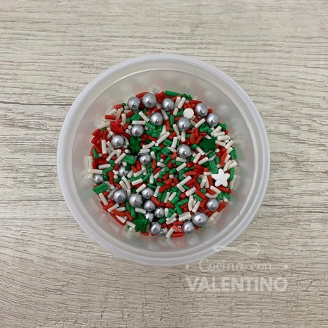 Granas Mini Mix Navidad Valentino - 50Grs.