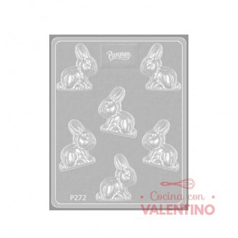 Placa Parpen Pascuas Conejitos x6 P271