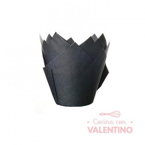 Tulipa Color Negro - Pack 50 Un.