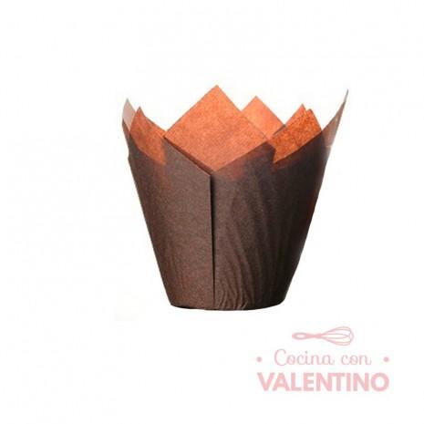 Tulipa Color Marron - Pack 50 Un.