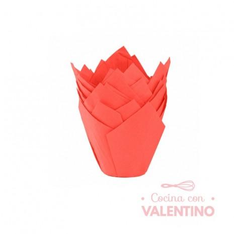 Tulipa Color Rojo - Pack 50 Un.