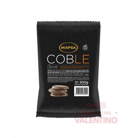 Chocolate Cobertura Mapsa Boton Coble Leche - 500Grs