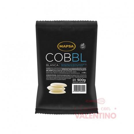 Chocolate Cobertura Mapsa Boton Cobbl Blanco - 500Grs