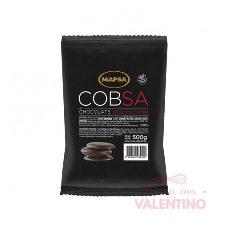 Chocolate Cobertura Mapsa Boton Cobsa S/A - 500Grs
