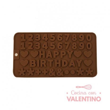 Molde de Chocolate HAPPY BIRTHDAY