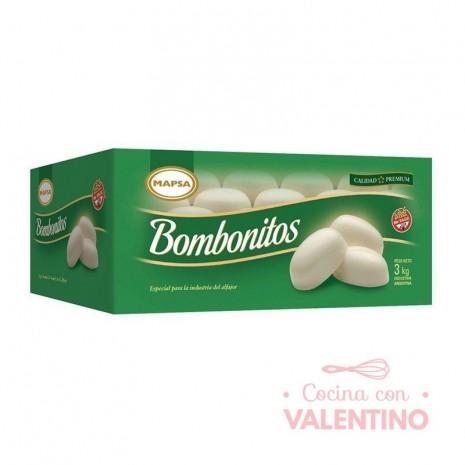 Baño de Reposteria Mapsa Bombonito Blanco - 3Kg