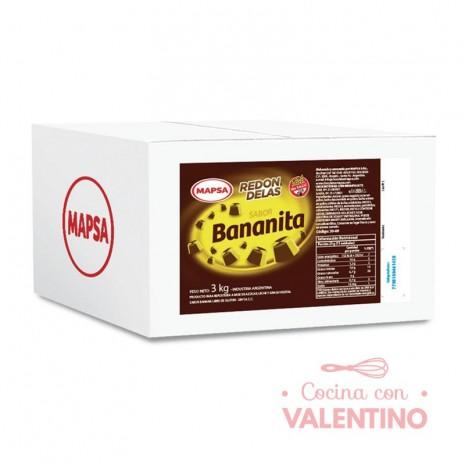 Bombon Mapsa Bananita - 3Kg