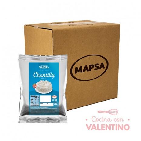 CremaChantillyDecoracion Mapsa-1Kg - Pack 14 Un.