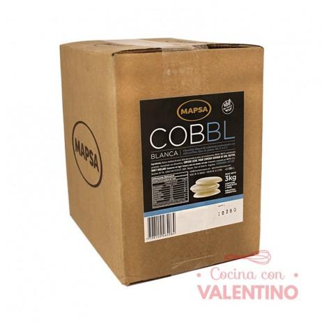 Chocolate Cobertura Mapsa Boton Cobbl Blanco - 500Grs - Pack 6 Un.