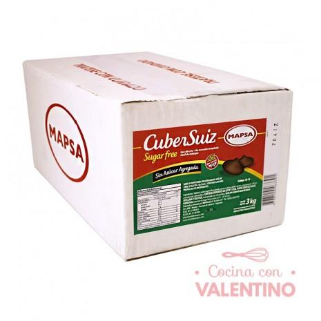 Baño de Moldeo CuberSuiz Botones Sin Azucar - 500Grs - Pack 6 Un