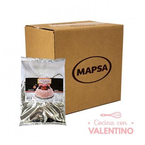 Mousse de Frutilla Mapsa - 1Kg - Pack 16 Un.