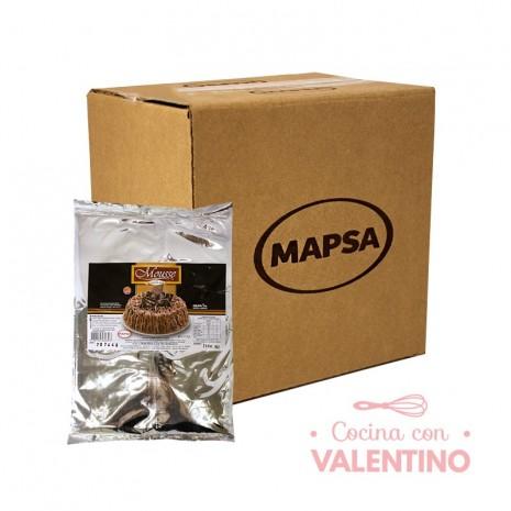 Mousse de Chocolate Mapsa - 1Kg - Pack 16 Un.